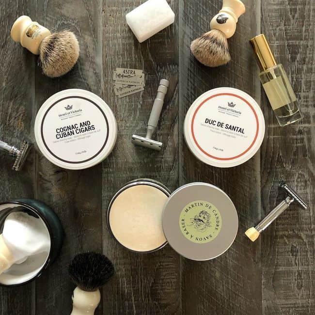 best triple milled shaving soaps