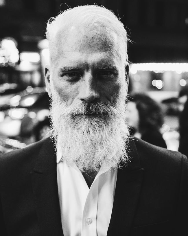 Why Do Beards Turn Grey First?